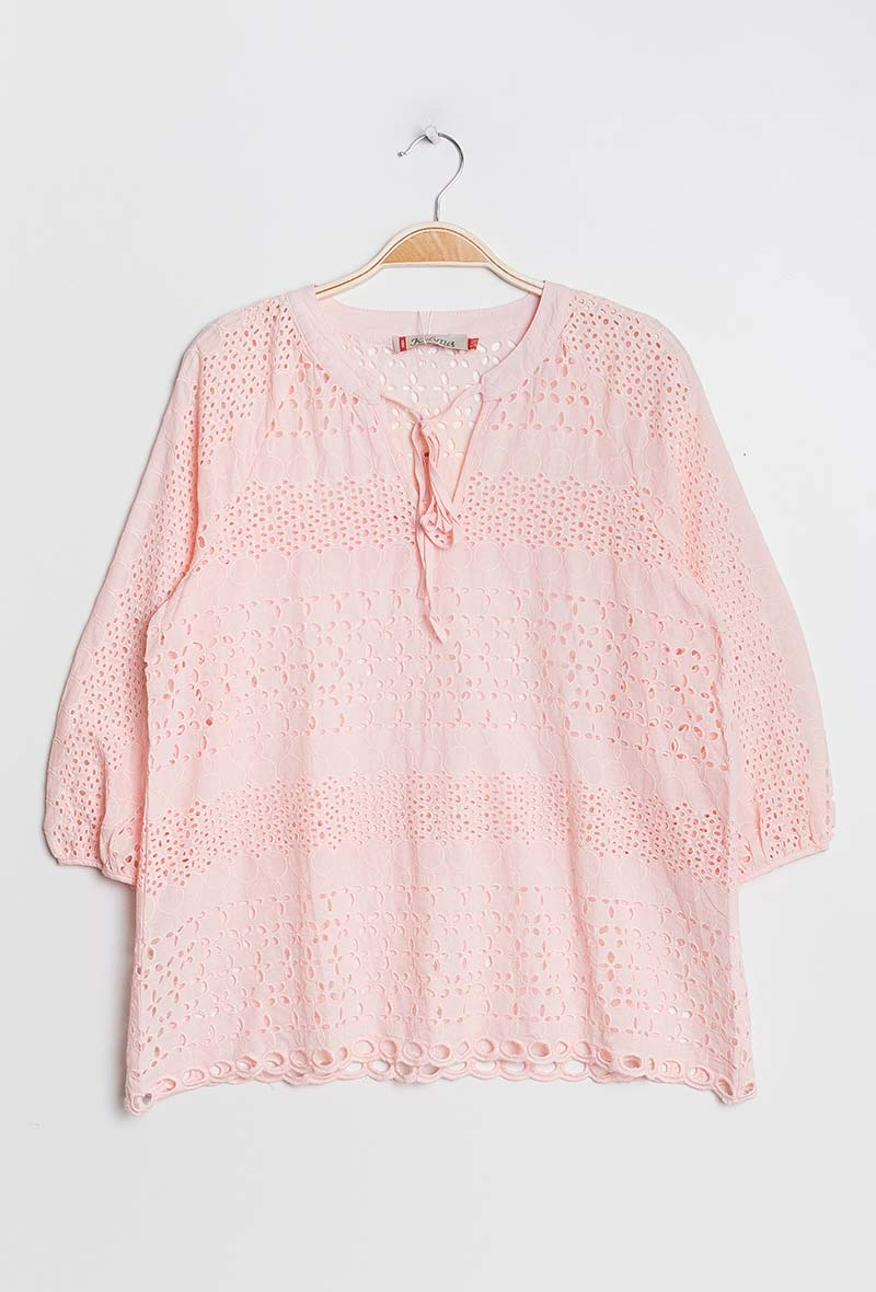 Other Brands Embroidery Blouse
