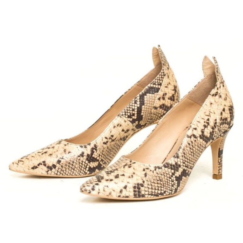 Front Society Pumps Snake