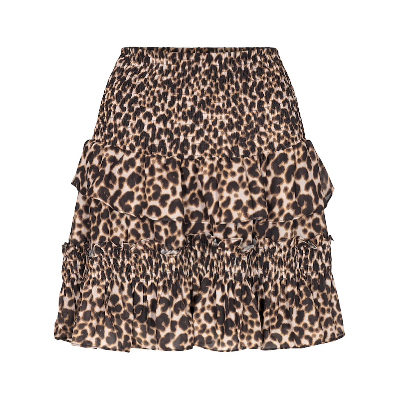 Co`Couture Adore Animal Smock Skirt