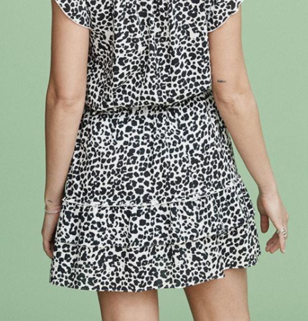 Mayla Lana Skirt Leopard Print