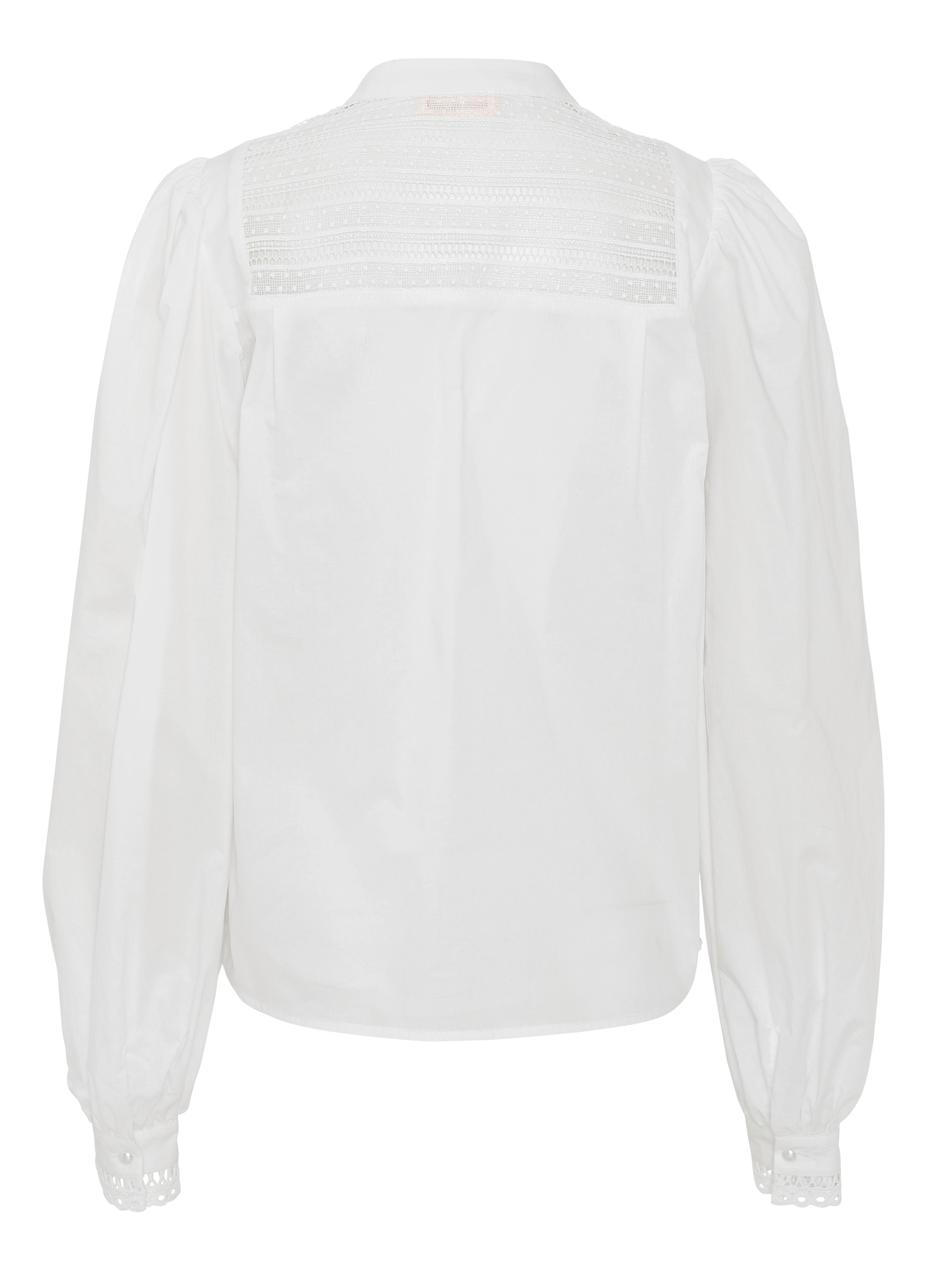 Custommade Ellena Shirt White