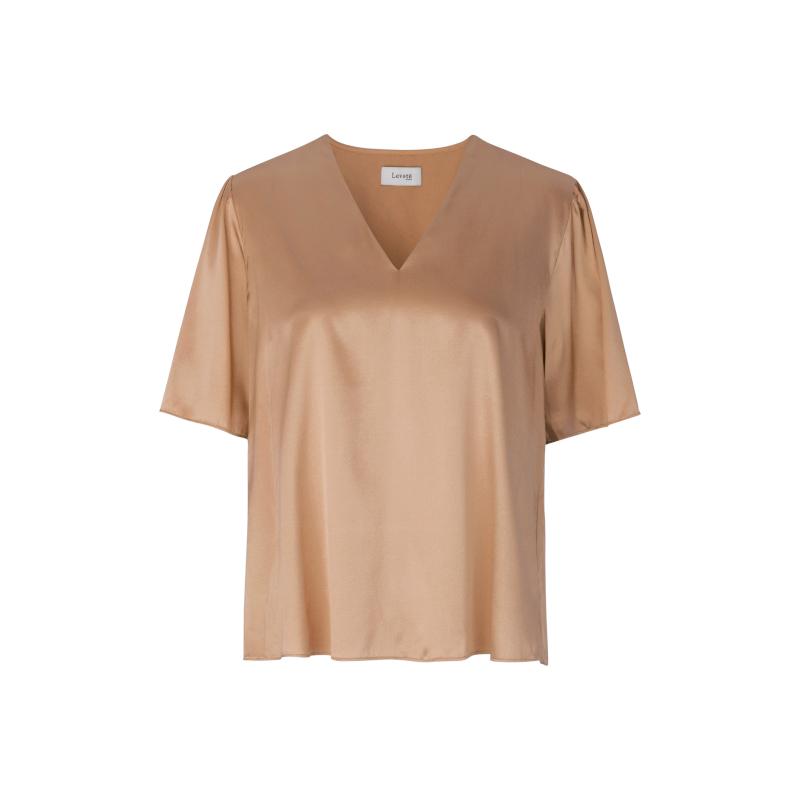 Levete Room Dakota Blouse Short Sleeved