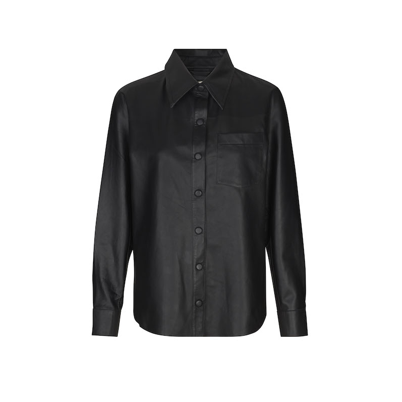 Leveté Room Globa 1 Leather Shirt