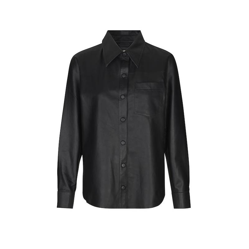 Leveté Room Globa 1 Leather Shirt