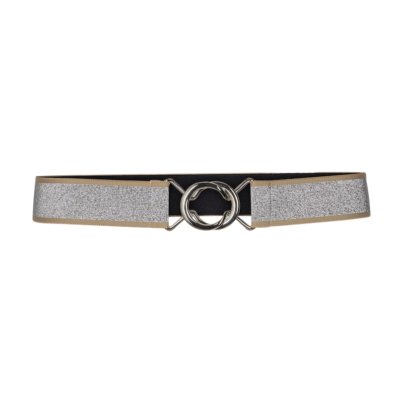 Co`Couture Silverhaze Elastic Belt