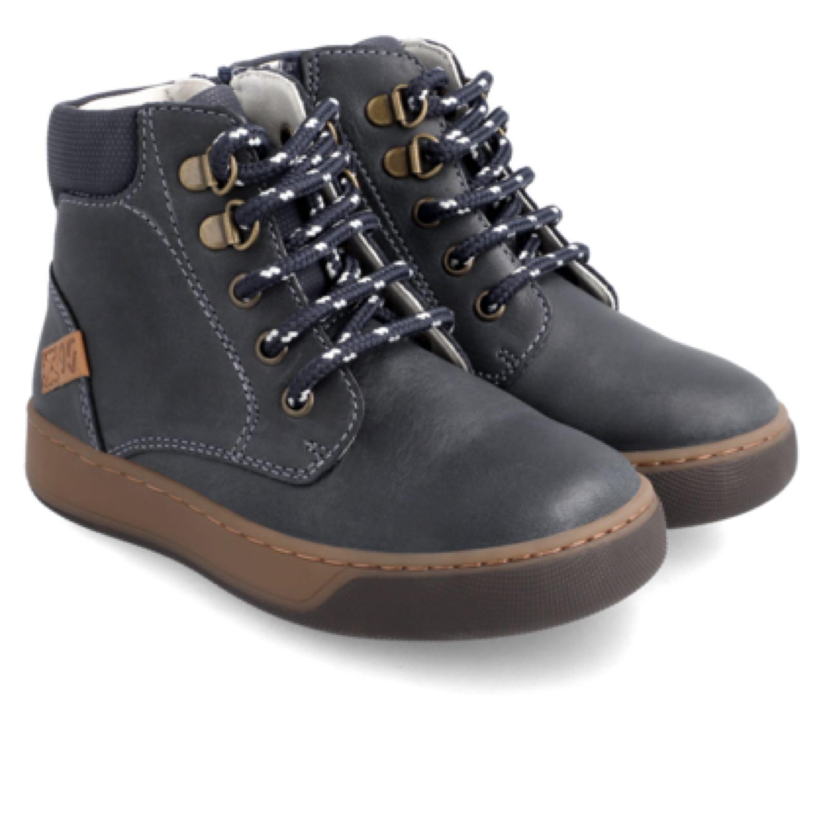 GARVALIN Azul Marino Boots Laced 211653