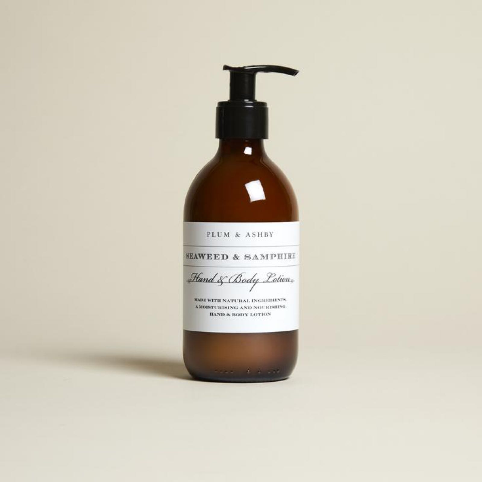 Plum & Ashby Seaweed and Samphire Hand and Body Lotion 300ml