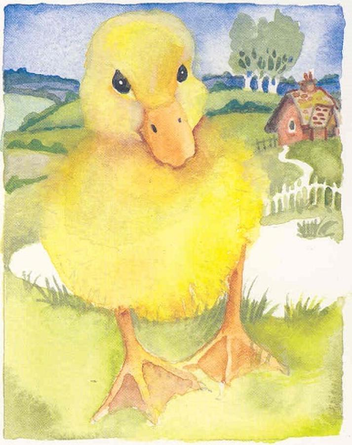 'Duckling' Furzedown Gallery Mini Card