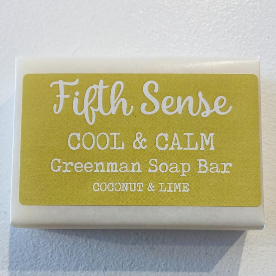 'Cool & Calm' Greenman Soap Bar