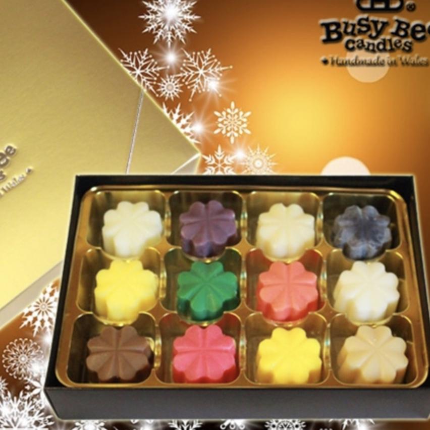 Festive Wax Melt Selection Box