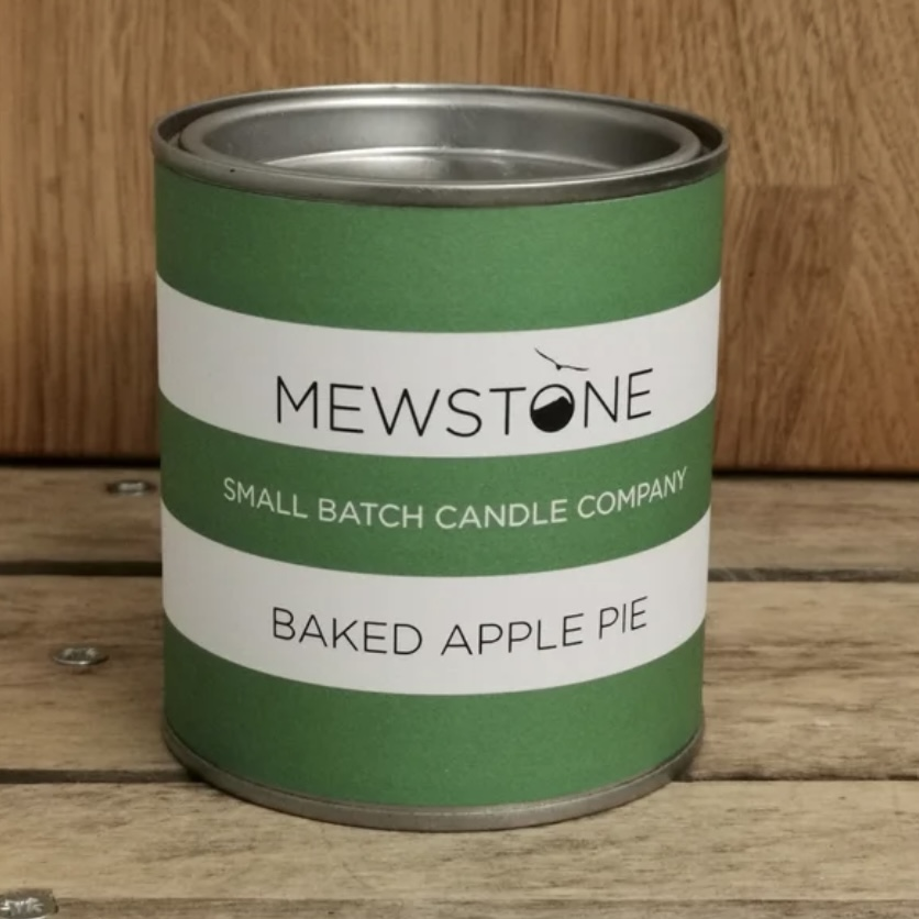 'Baked Apple Pie' Paint Tin Candle
