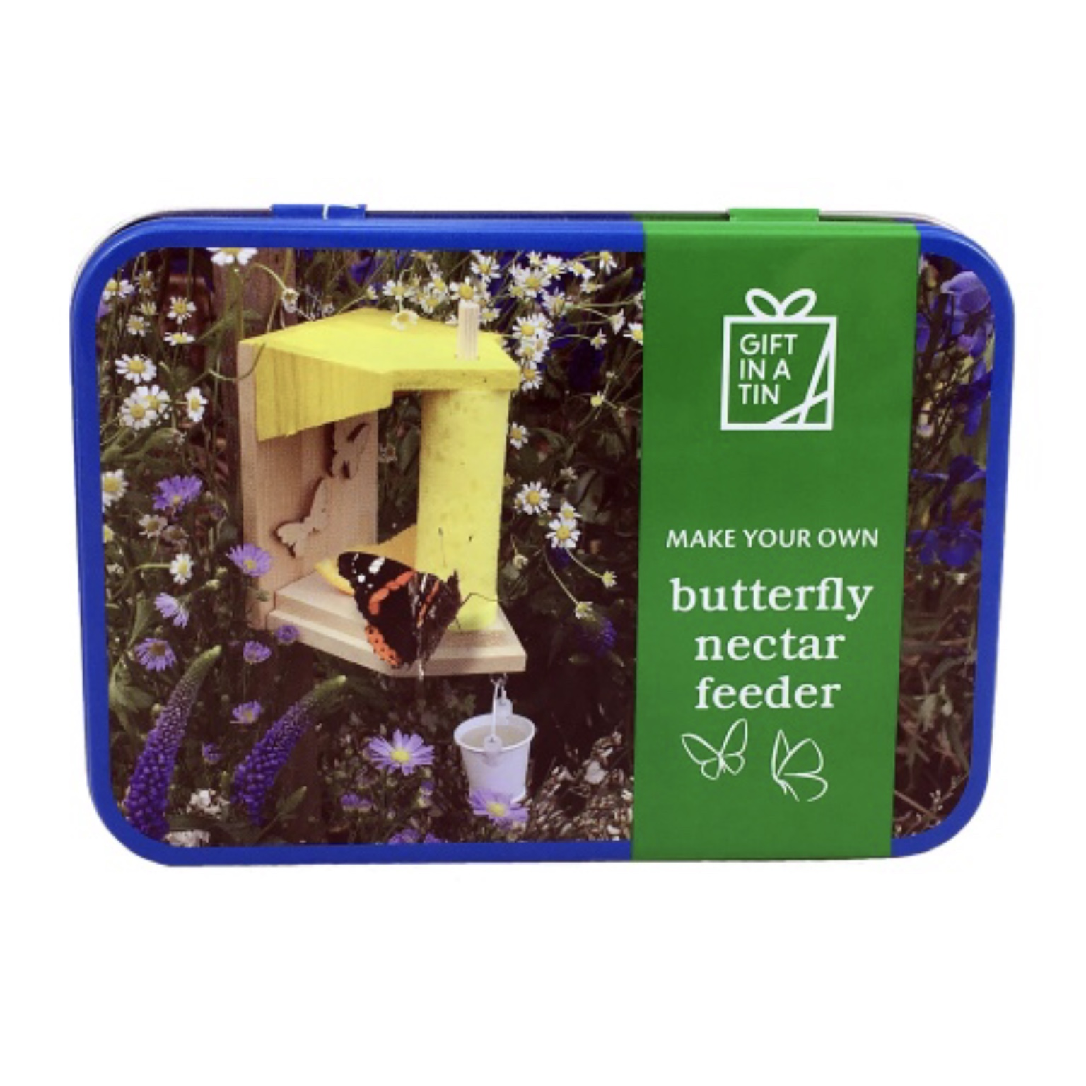 'Butterfly Nectar Feeder' Gift in a Tin
