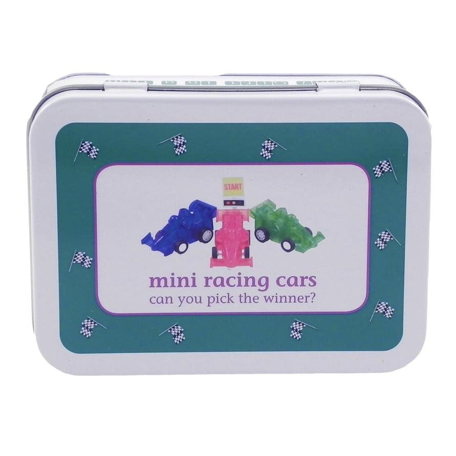 Mini Racing Cars Tin