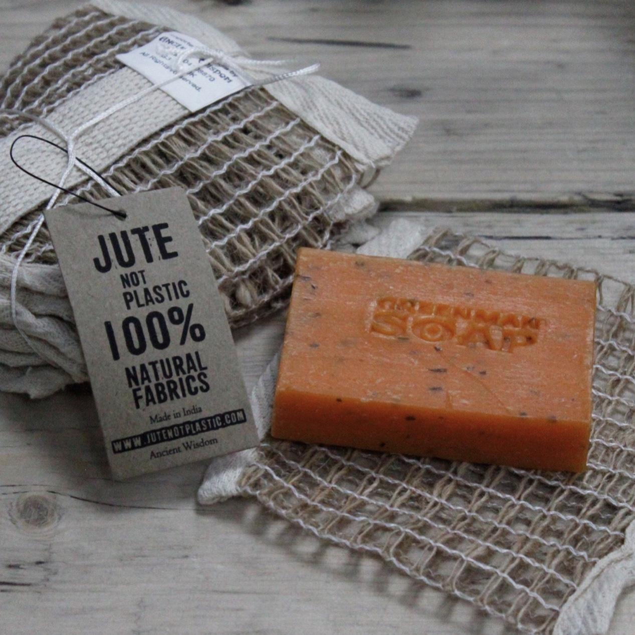 'Soft Jute' Soap Bag