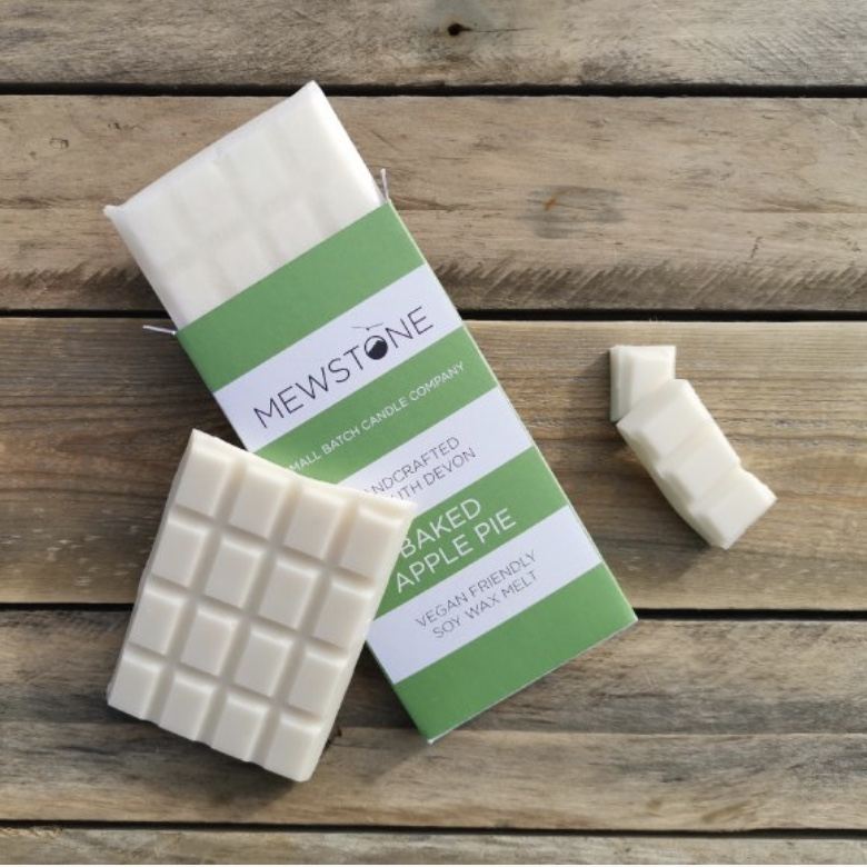 Baked Apple Pie Soy Wax Snap Bar