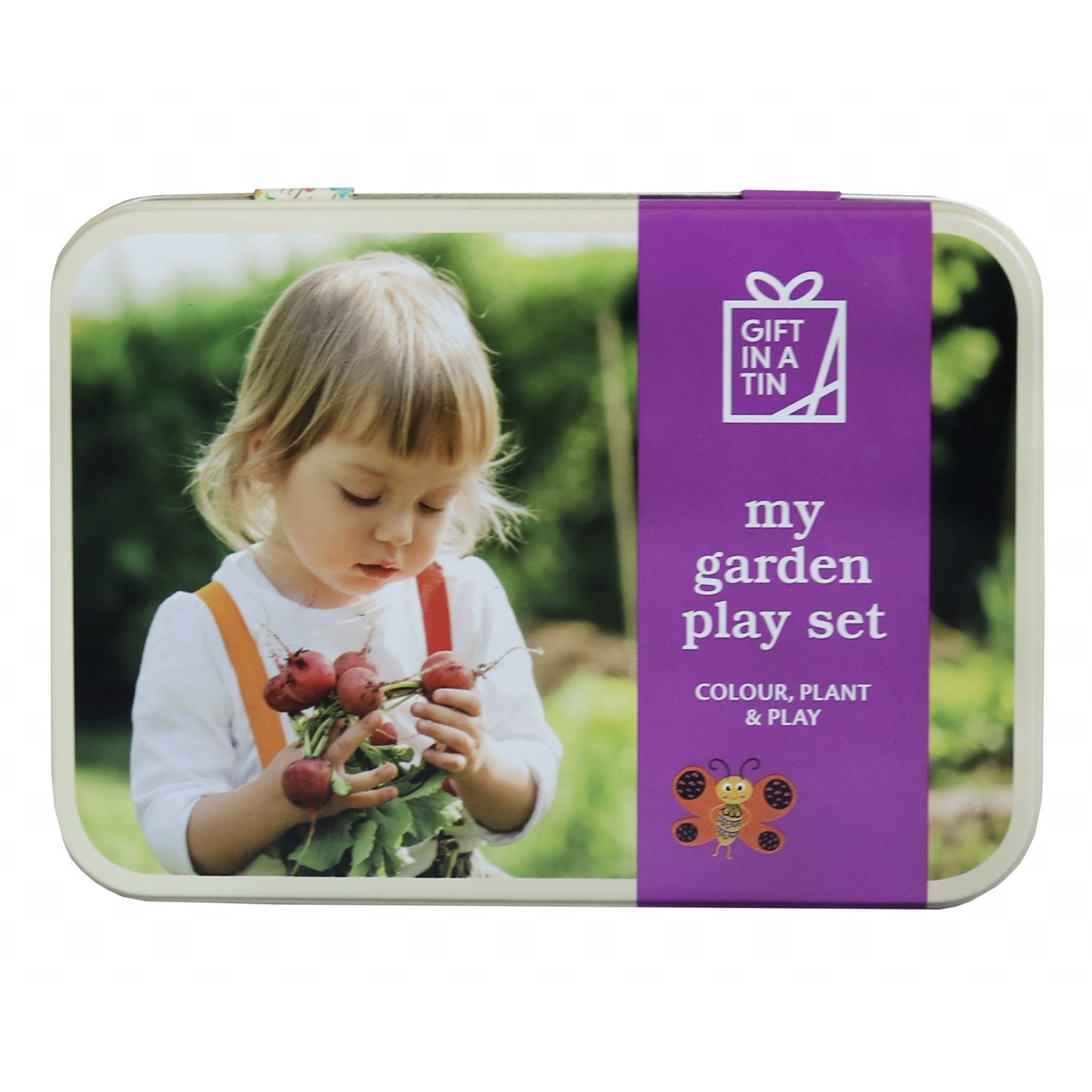 'My Garden Play Set' Gift in a Tin