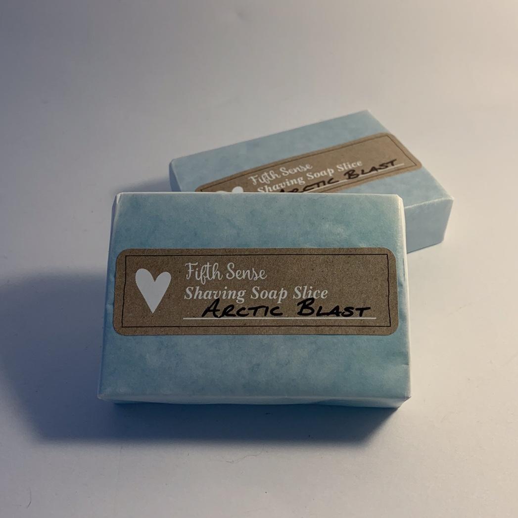Arctic Blast Shaving Soap Slice