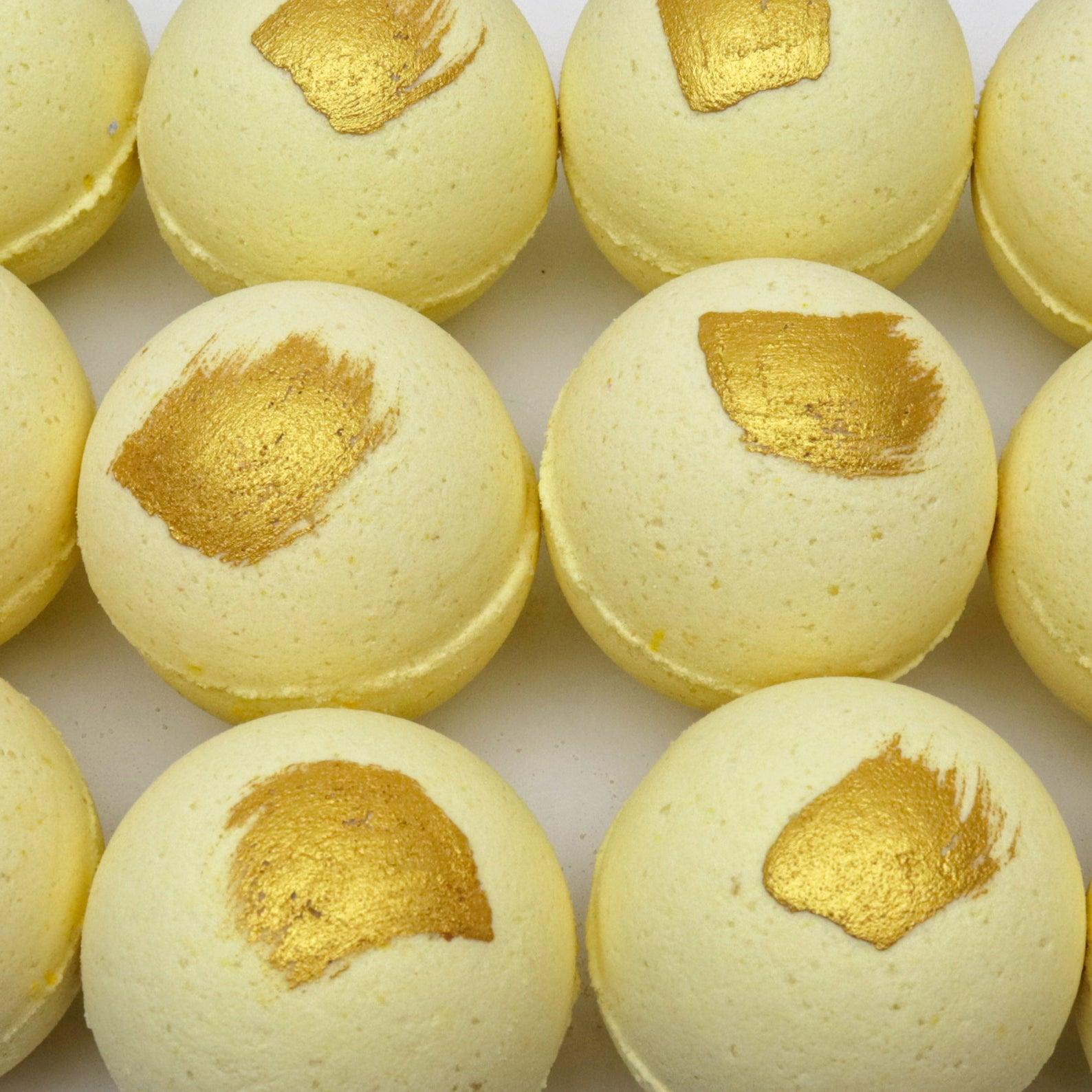 Sherbet Lemon Bath Bomb