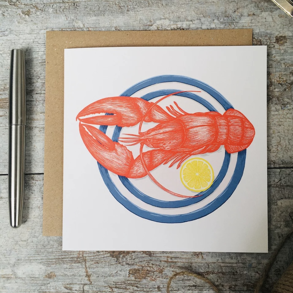 'Lobster' Corniche Card