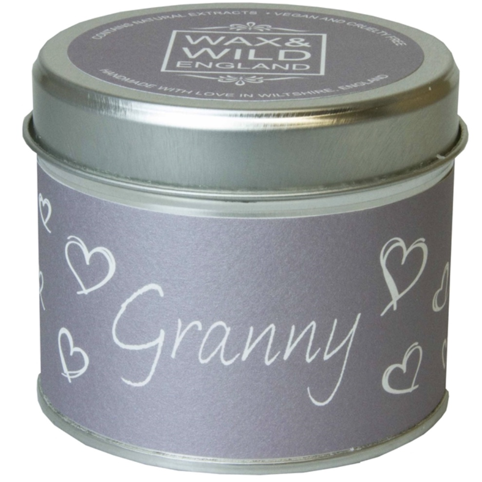 'Granny' Sentiments Candle in a Tin