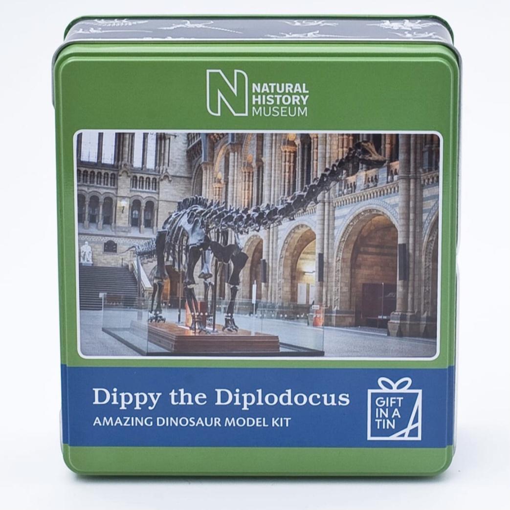 Dippy The Diplodocus Tin
