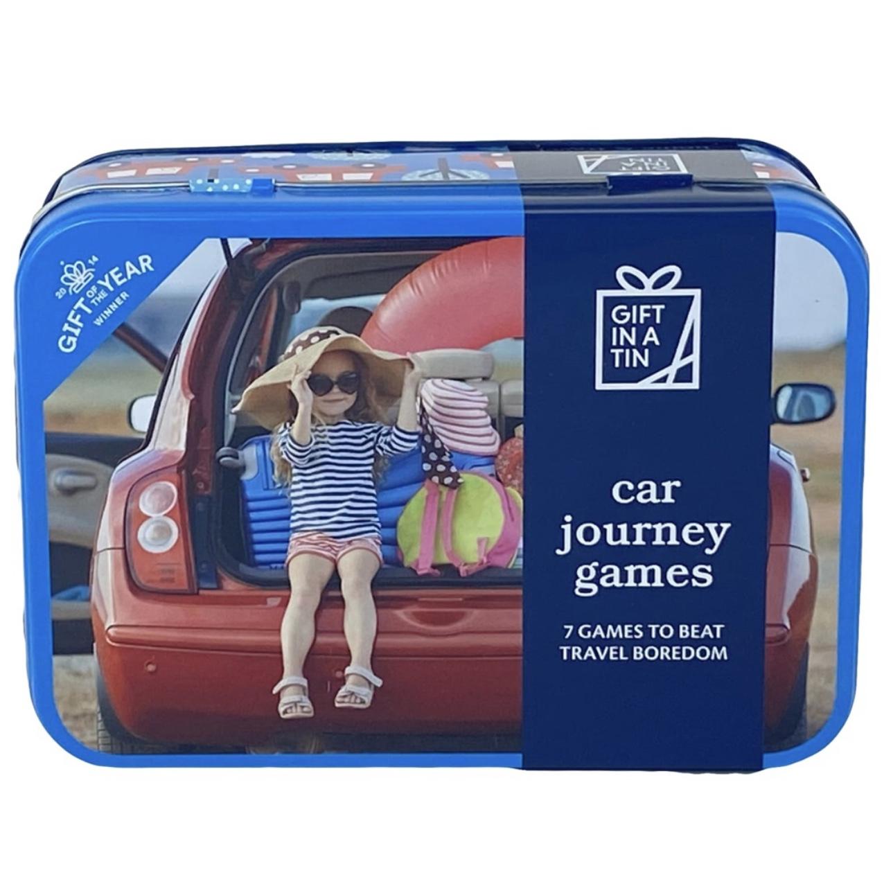Car Journey Games Tin