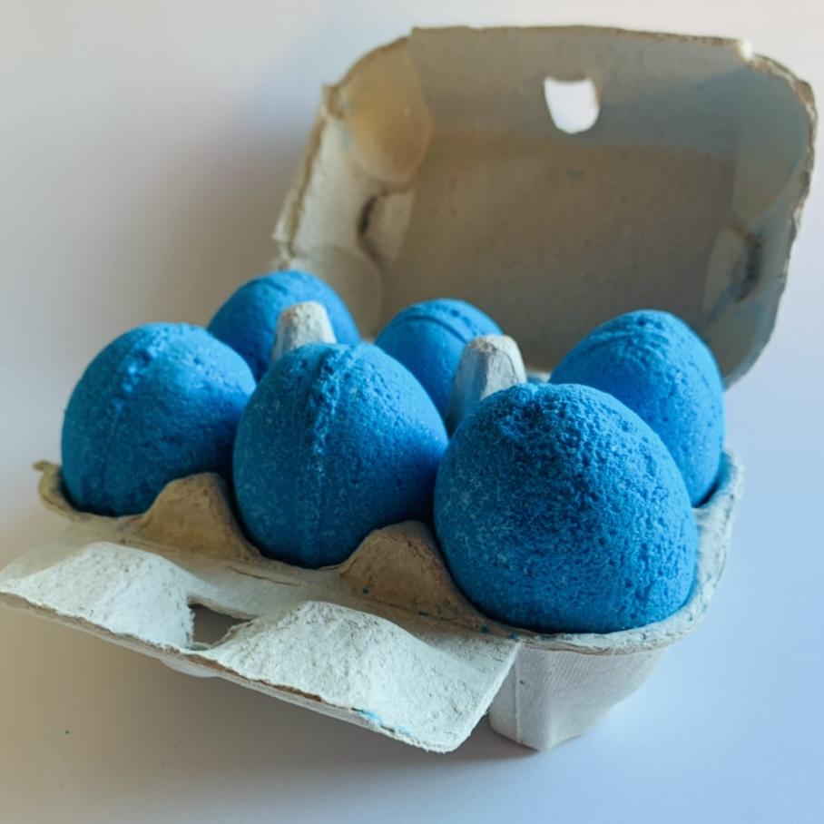 'Blueberry Fizz' Bath Eggs