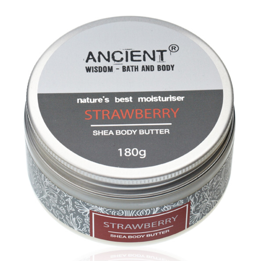 'Strawberry' Shea Body Butter (Was £12.00)