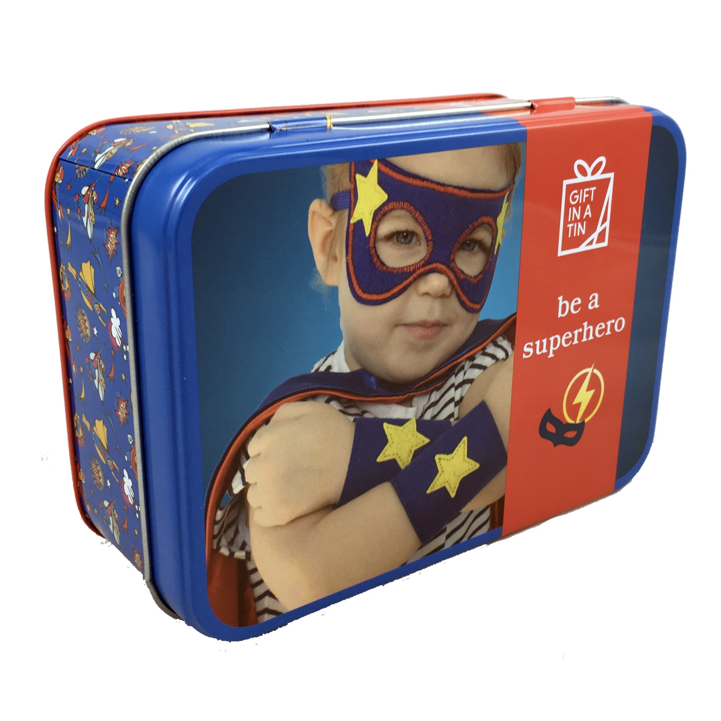 'Be a Superhero' Gift in a Tin