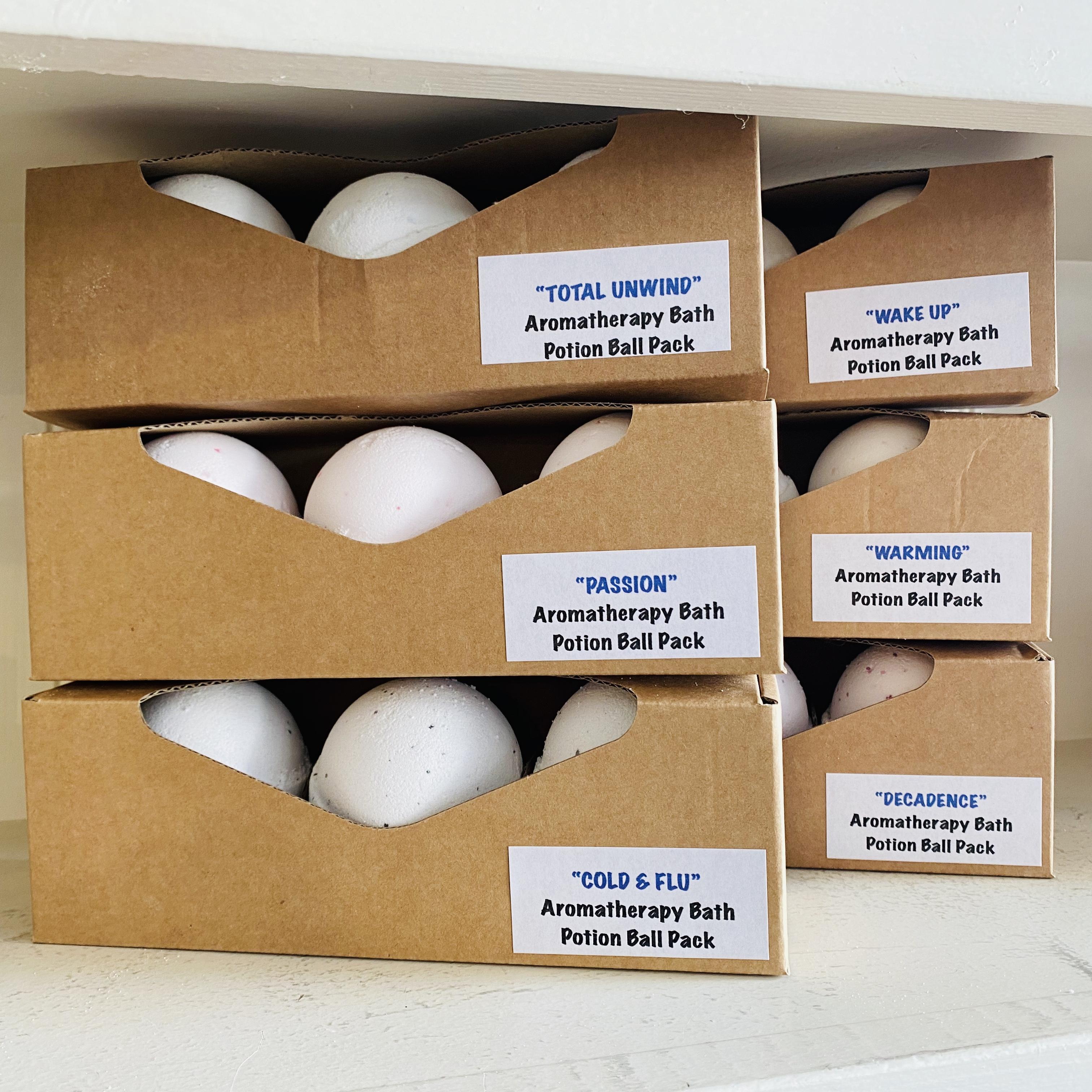 Aromatherapy Bath Potion Balls