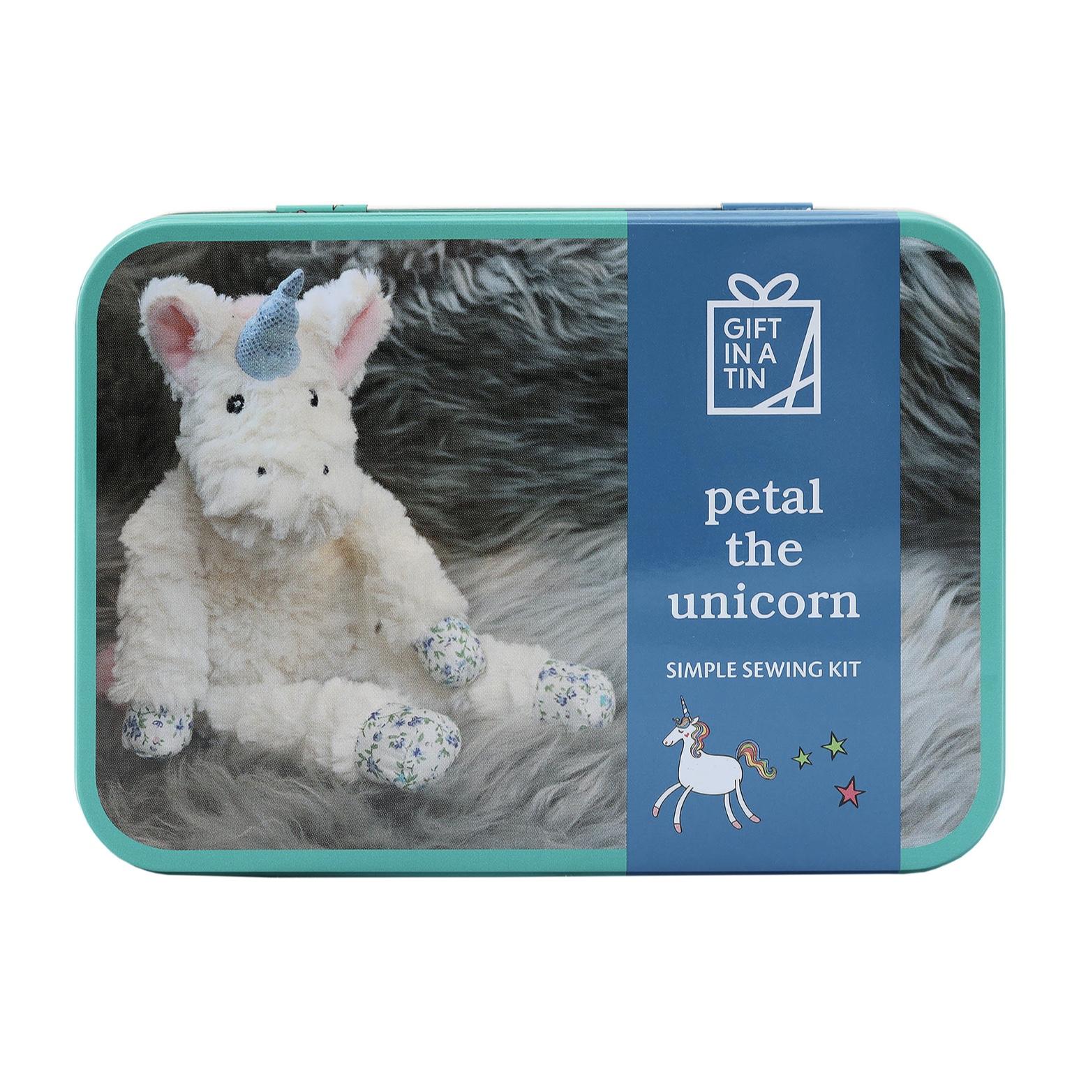 'Petal the Unicorn' Gift in a Tin
