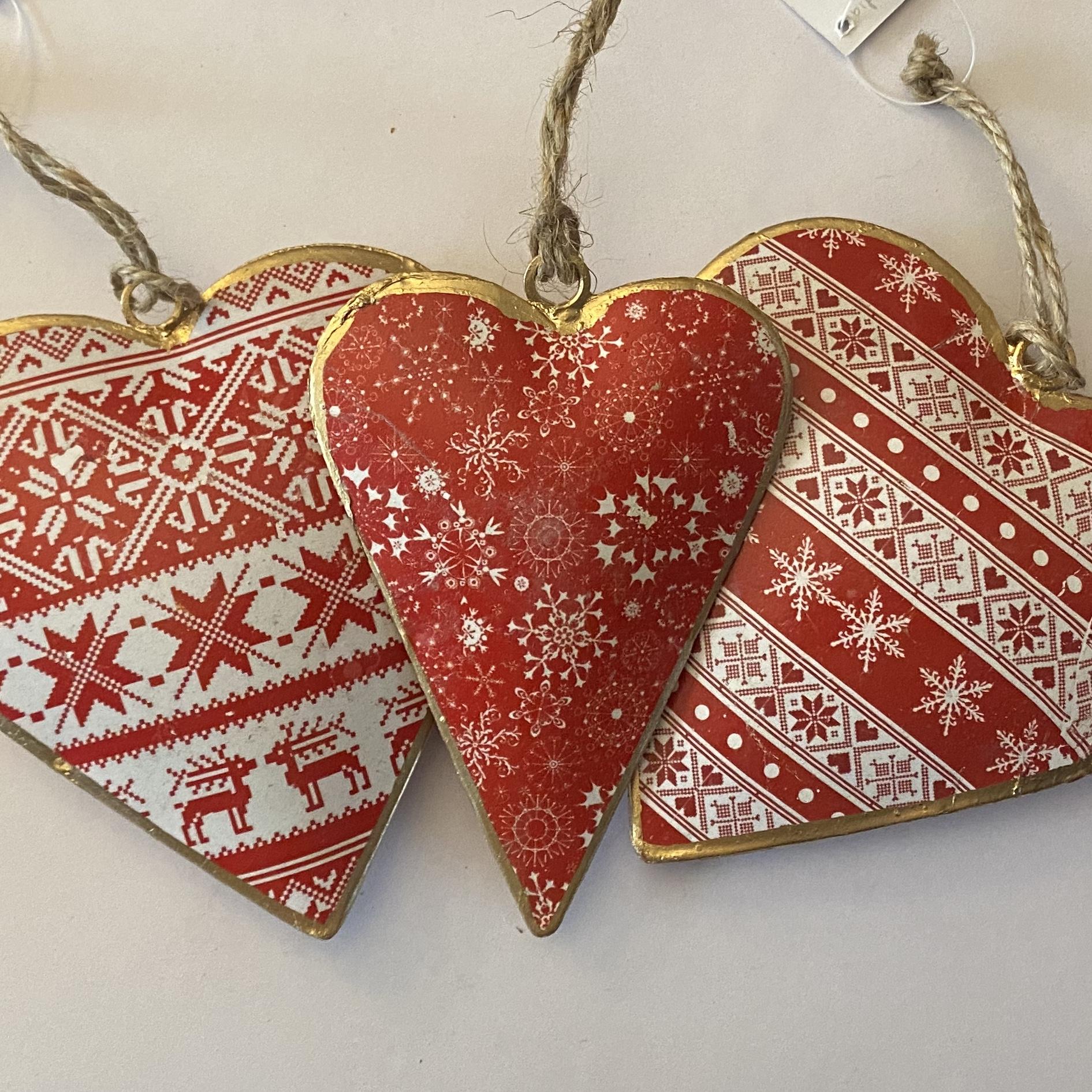 'Heart' Tin Decoration