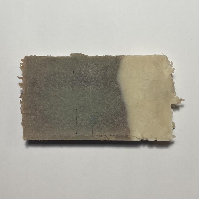 'Chocolate' Olive Oil Soap Slice