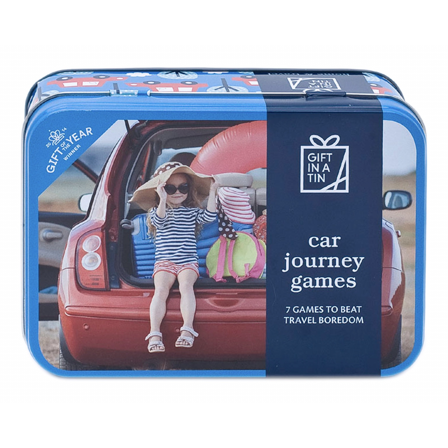 'Car Journey Games' Gift in a Tin
