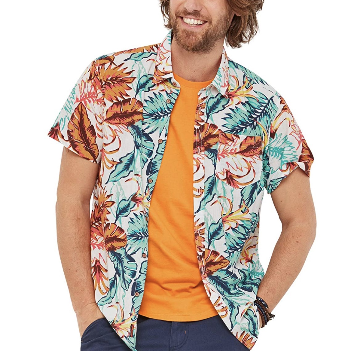 Tropical Leaf Shirt