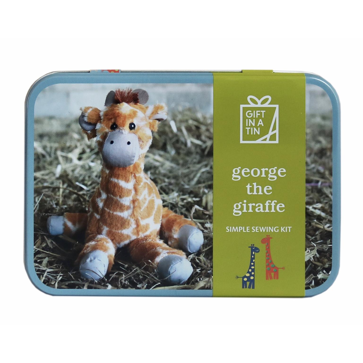 'George the Giraffe' Gift in a Tin