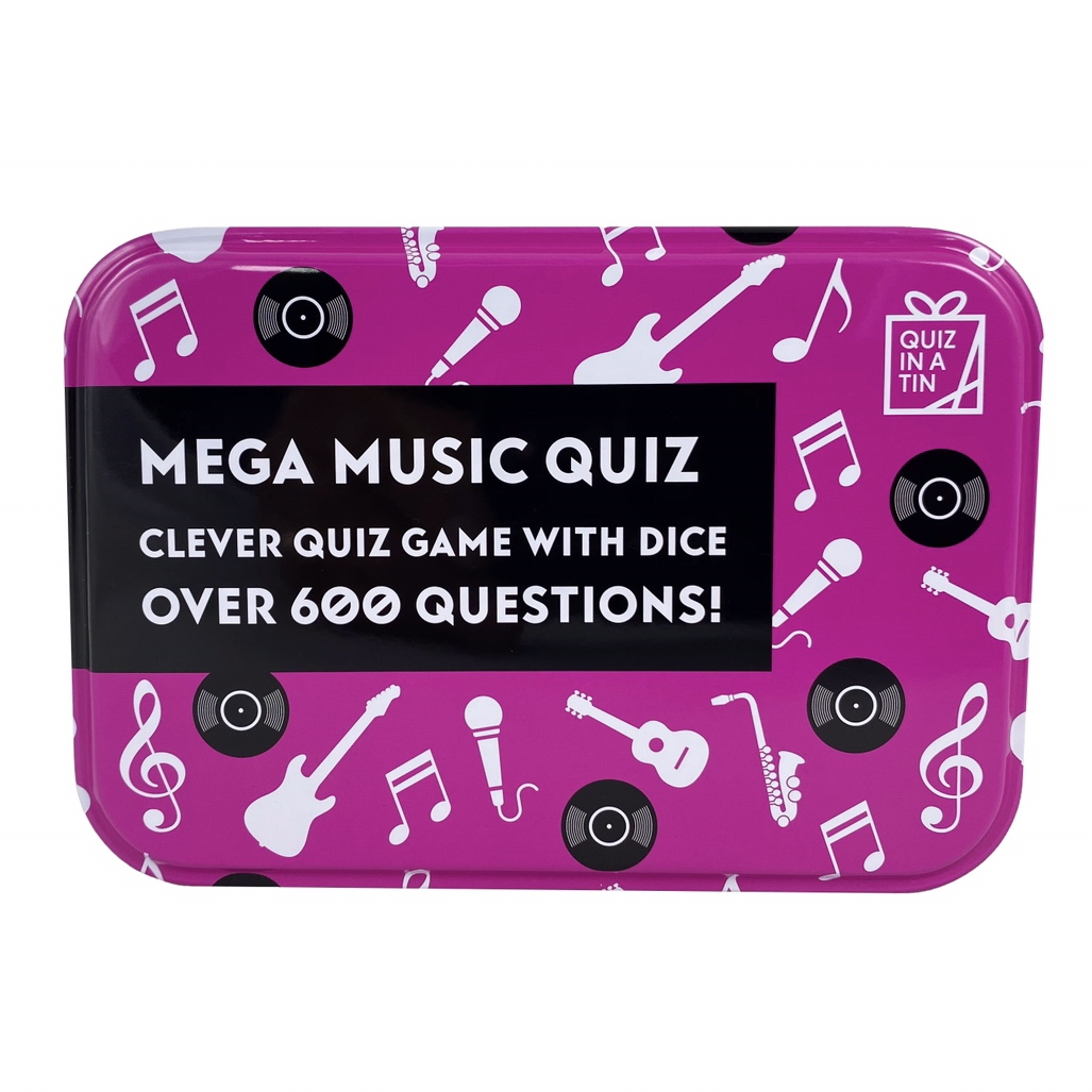 'Mega Music' Quiz In A Tin