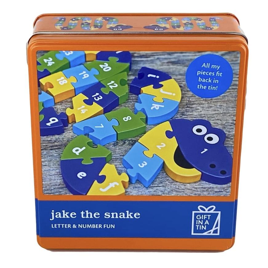 Jake The Snake Tin