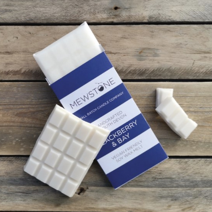 Blackberry & Bay Soy Wax Snap Bar