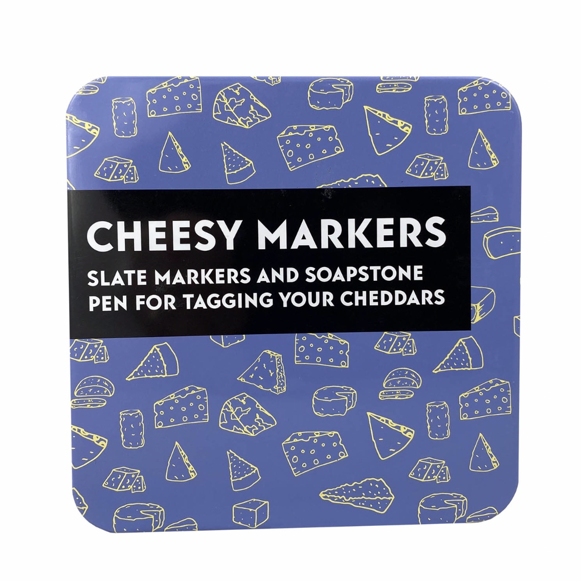 'Cheesy Markers' Gift in a Tin