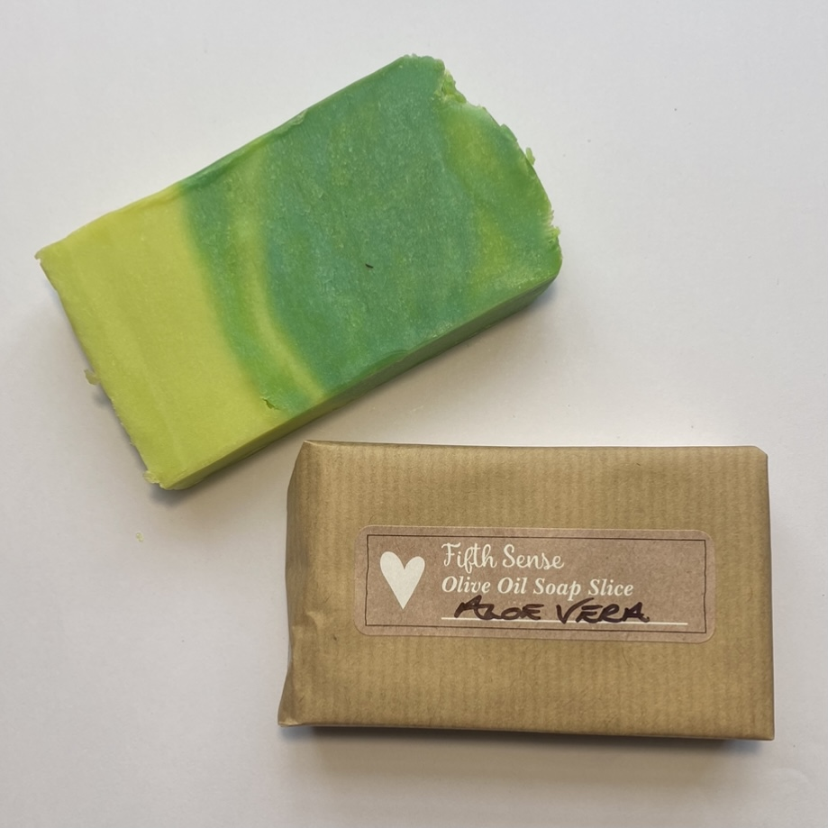 'Aloe Vera' Olive Oil Soap Slice