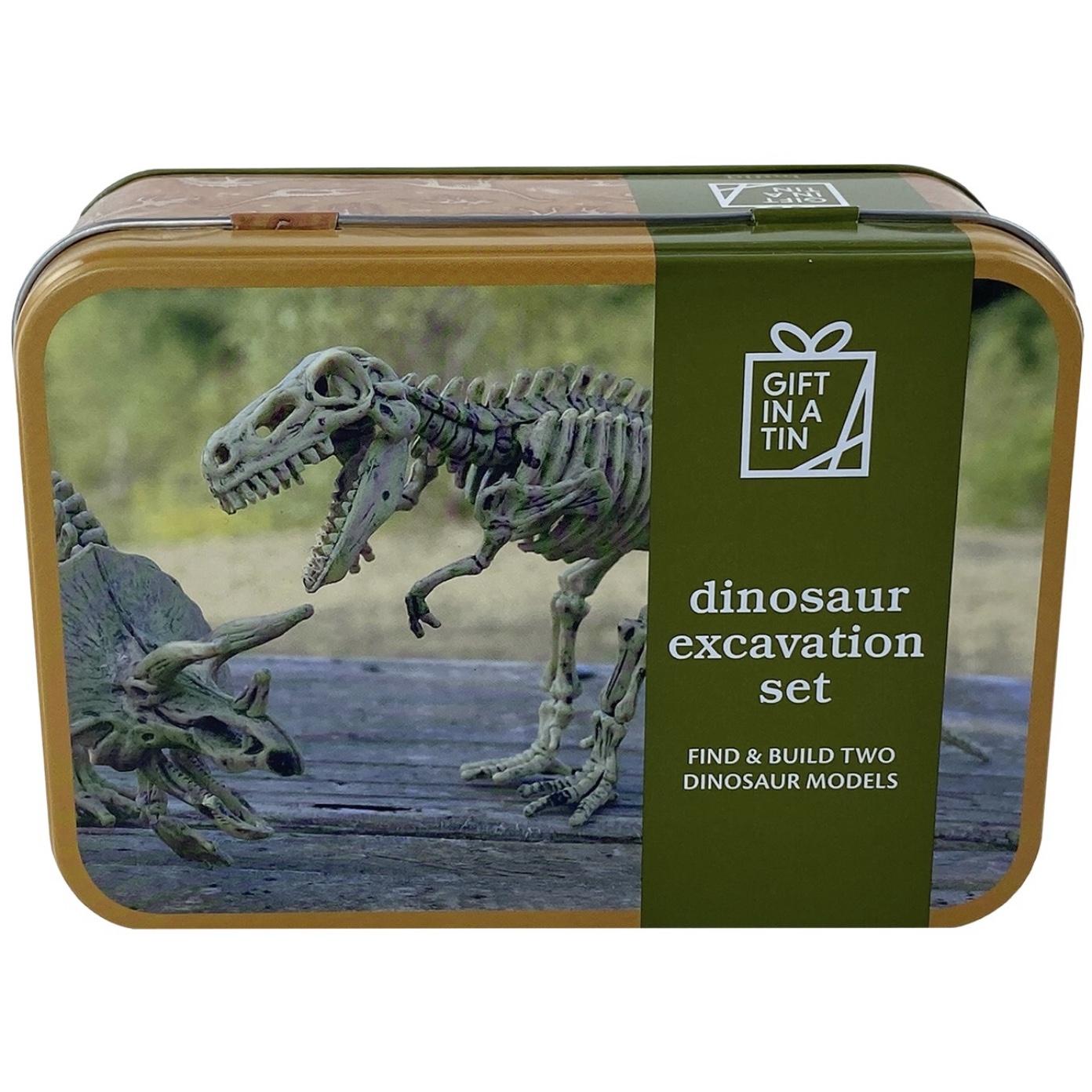 Dinosaur Excavation Tin