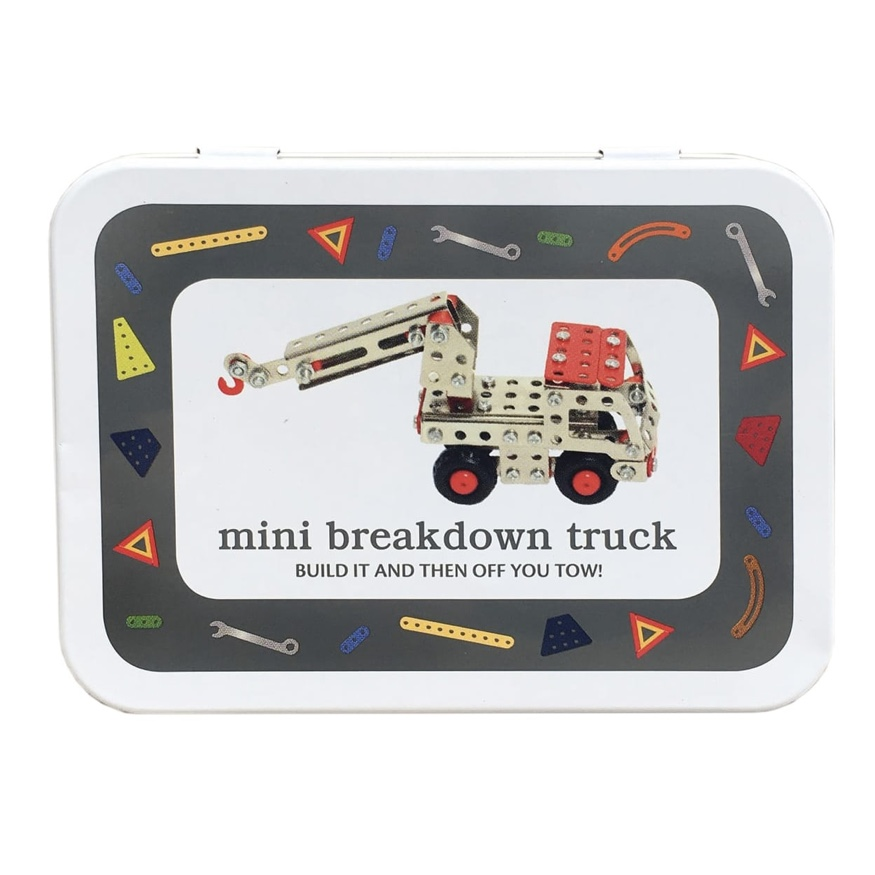 Mini Breakdown Truck Tin