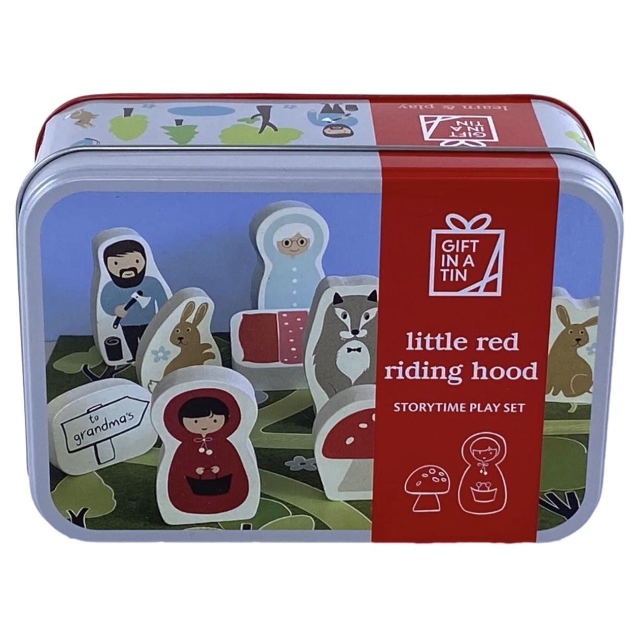 Little Red Riding Hood Tin