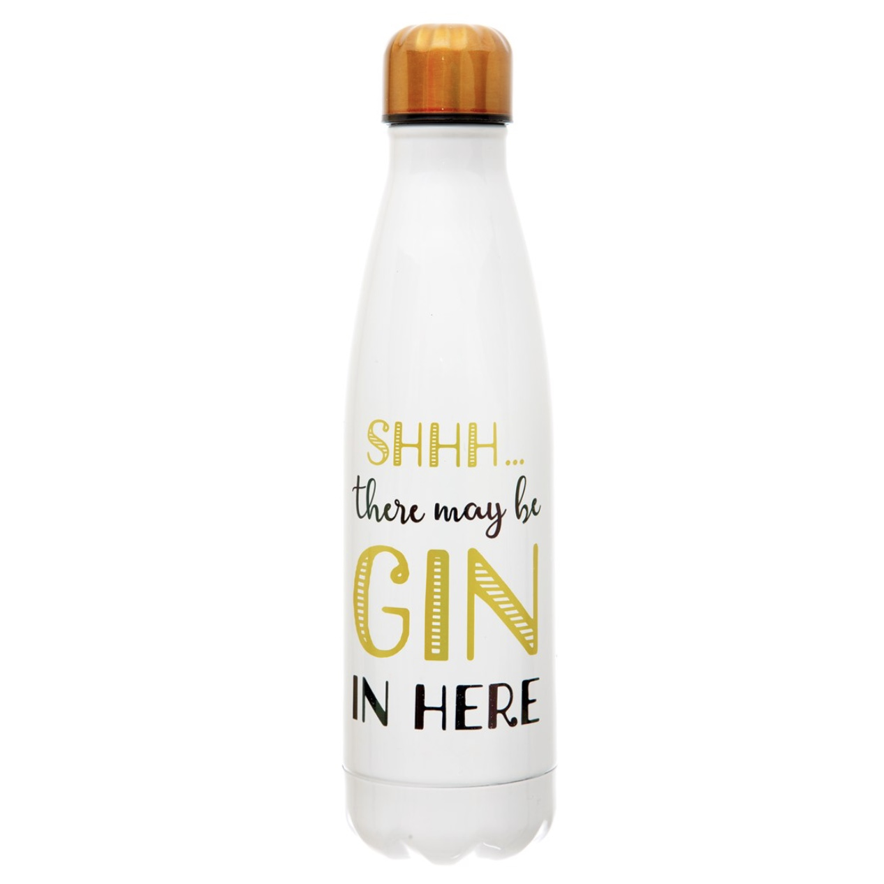 Water Bottle - There's Gin in Here
