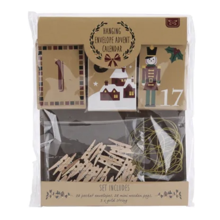 Envelope Hanging Advent Calendar