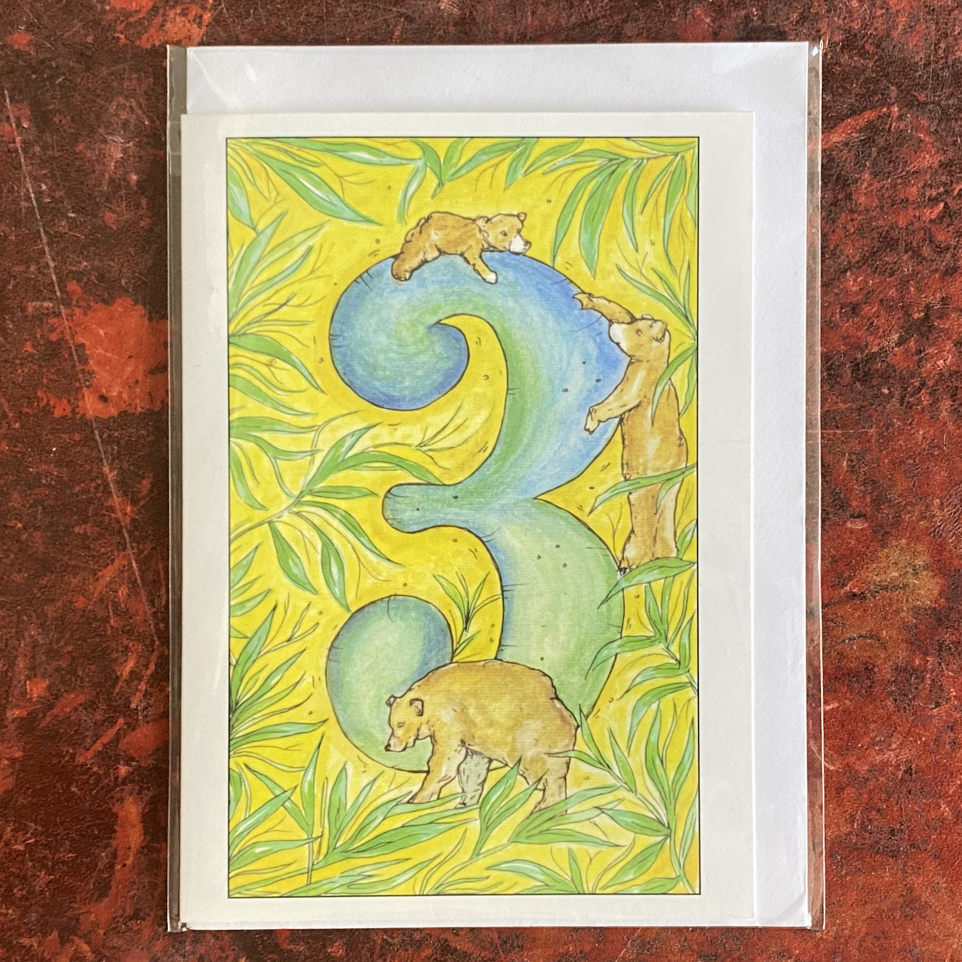 Claire Eatwell Designs Card