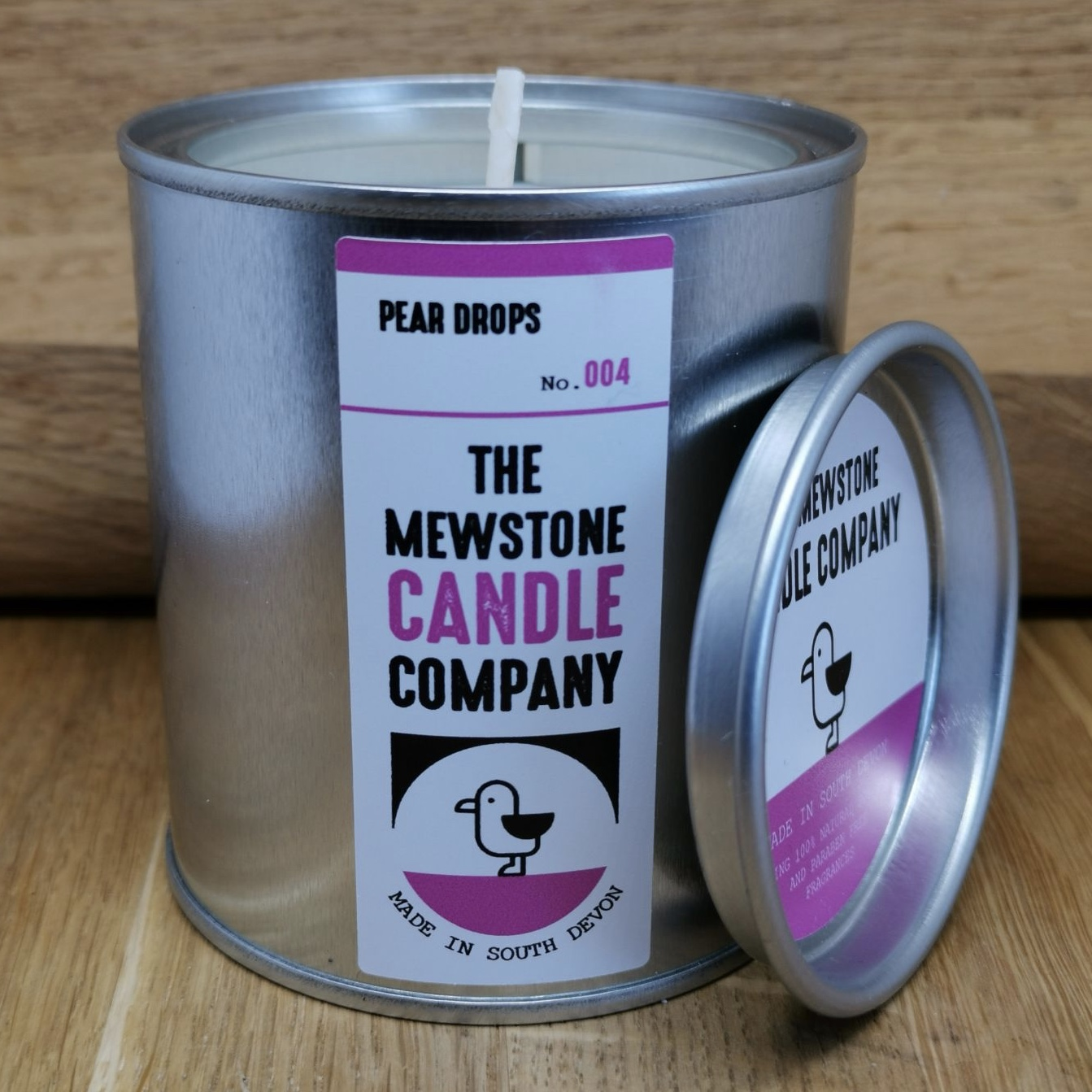 'Pear Drops' Mewstone Paint Tin Candle (Was £12.50)
