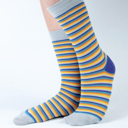 'Bright Stripe' Kids Bamboo Socks