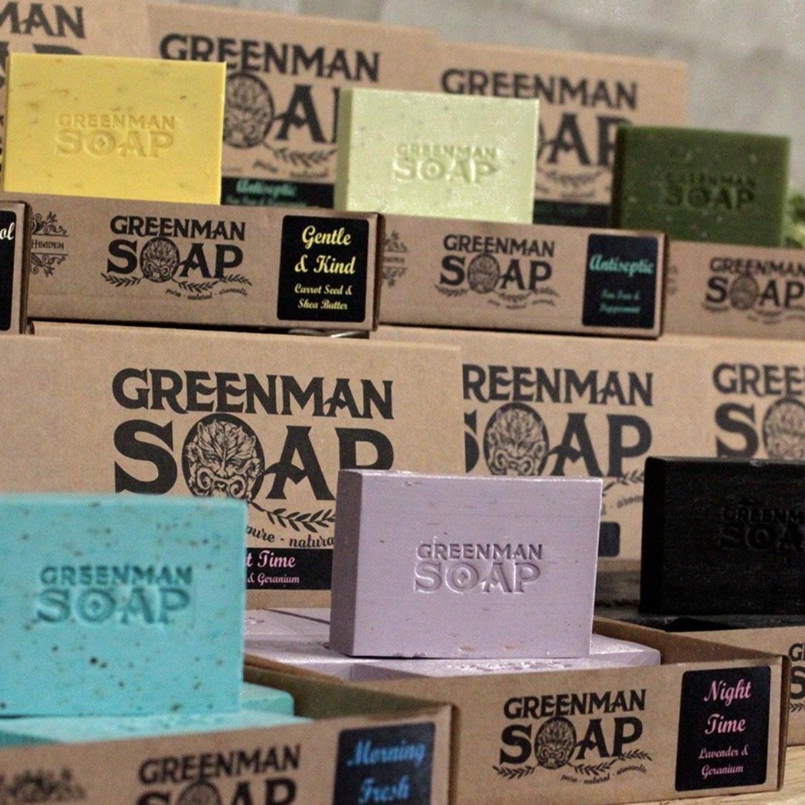 Greenman Soap Slice